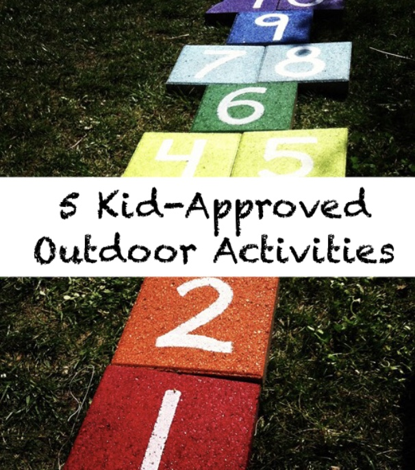 5 Outdoor Activities Your Littles will Love